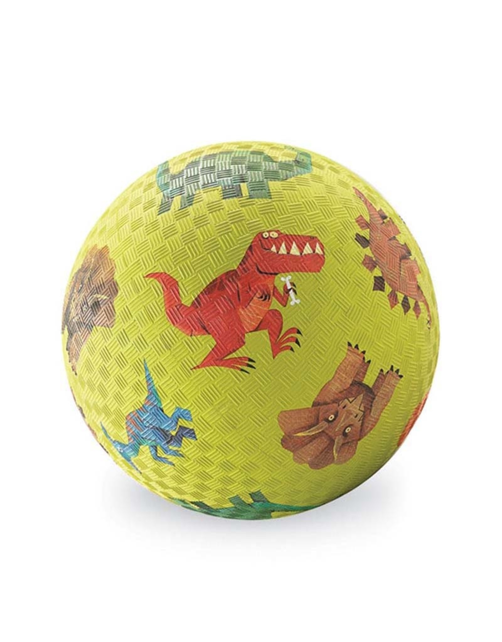 "Crocodile Creek 5"" Playground Ball/Dinosaurs Green"