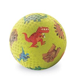 "Crocodile Creek 5"" Playground Ball/Dinosaurs Green"