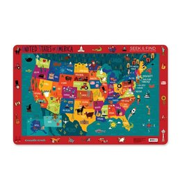 Crocodile Creek Placemat United States of America