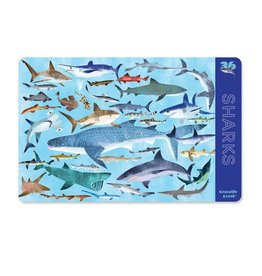 Crocodile Creek Placemat Sharks