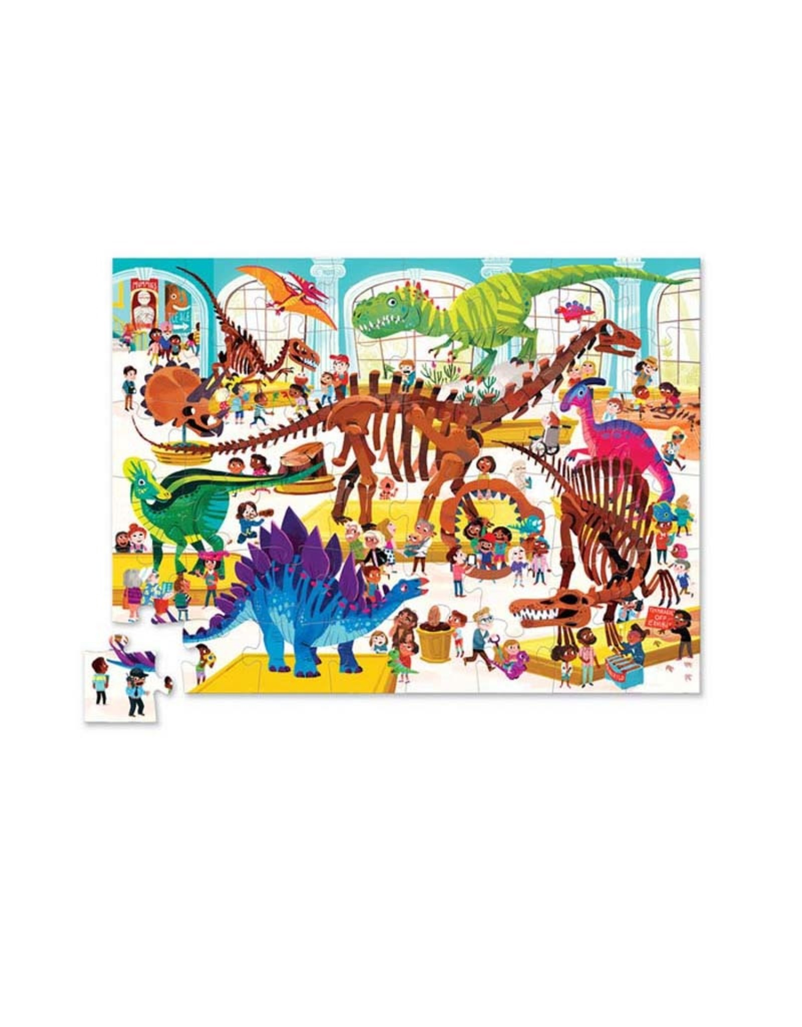 Crocodile Creek 48pc Puzzle Day at the Museum / Dinosaur