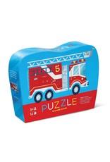 Crocodile Creek 12pc Mini Puzzle Fire Truck