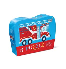 Crocodile Creek 12pc Mini Puzzle Fire Truck
