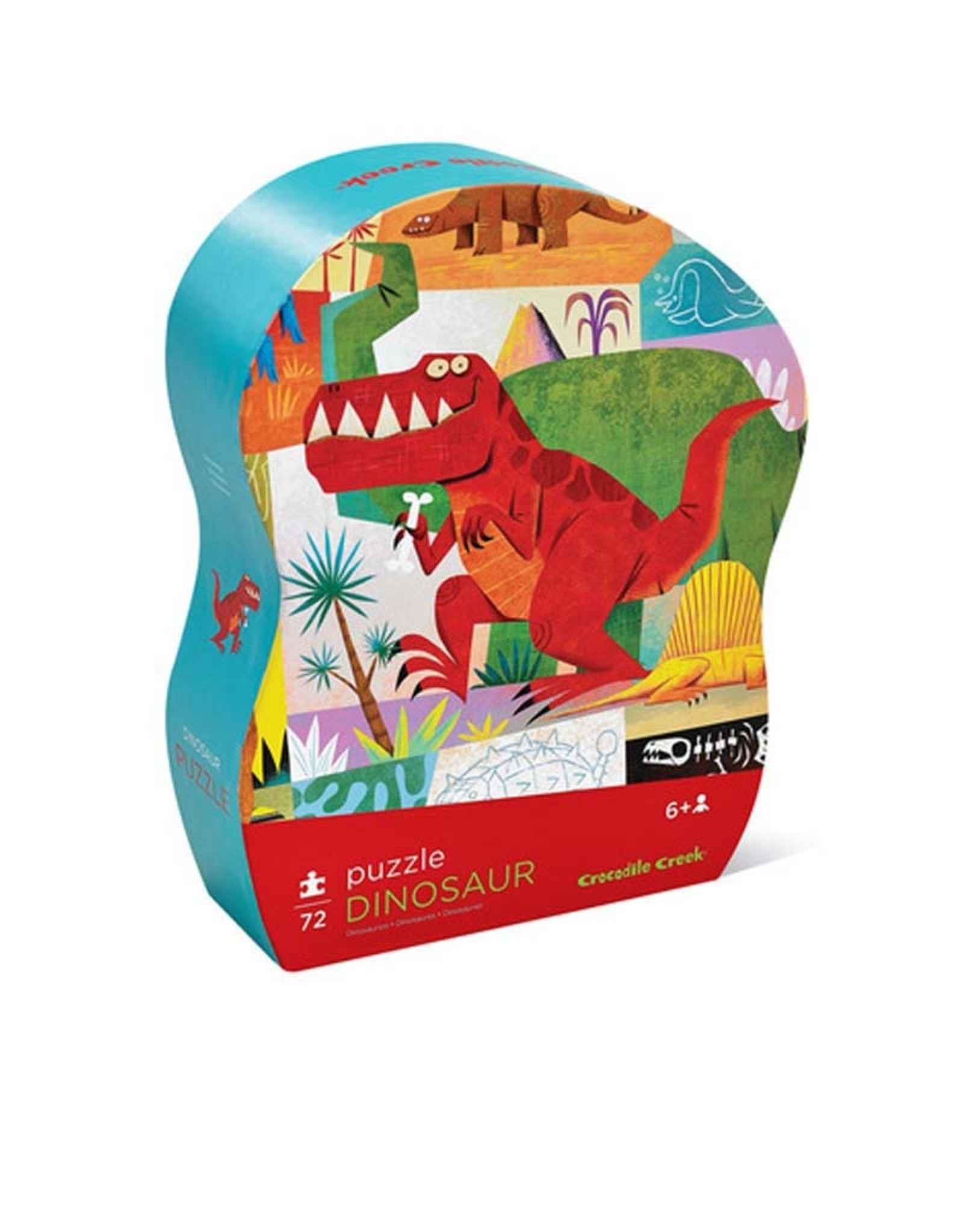 Crocodile Creek 72pc Puzzle/Dinosaur