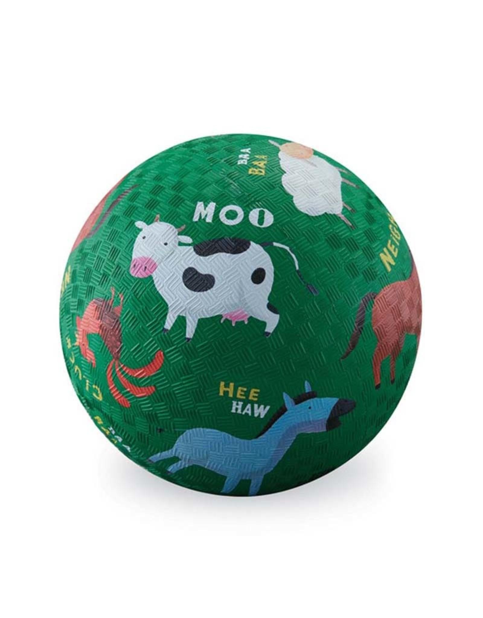 "Crocodile Creek 5"" Playground Ball/ Barnyard"