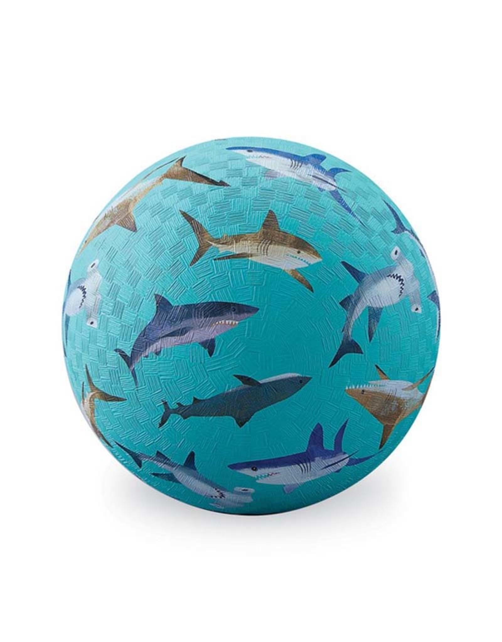 "Crocodile Creek 5"" Playground Ball/Sharks"