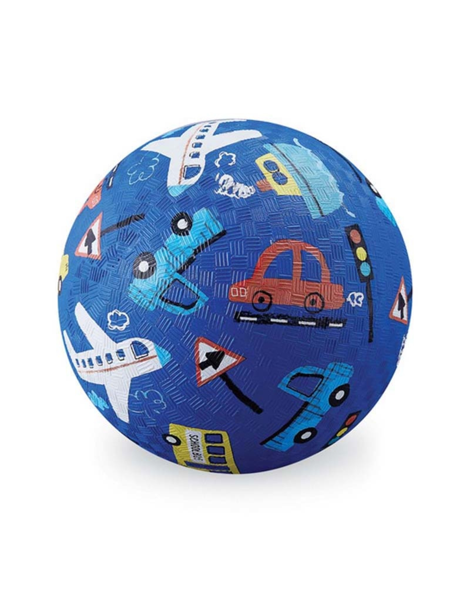 "Crocodile Creek 7"" Playground Ball/Things That Go NEW!"