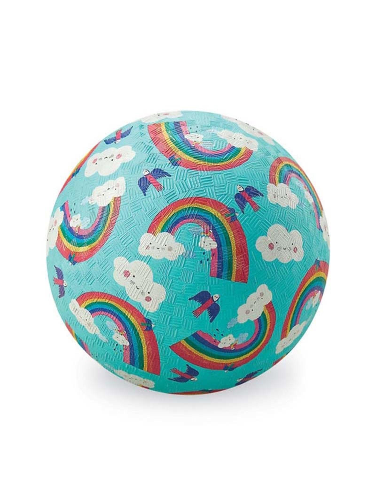 "Crocodile Creek 7"" Playground Ball Rainbow Dreams"