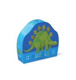 Crocodile Creek 12pc Mini Puzzle/Stompin' Stego NEW!