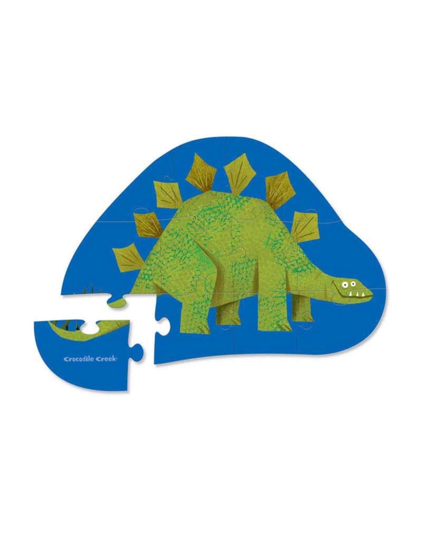 Crocodile Creek 12pc Mini Puzzle Stompin' Stego