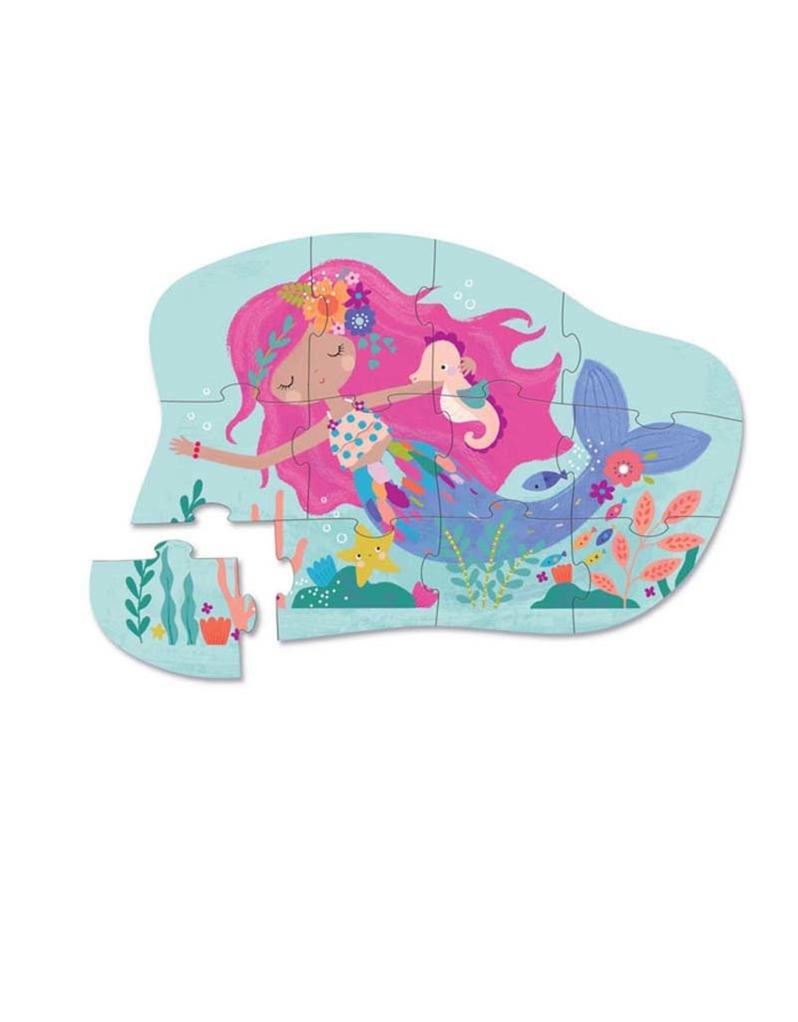 Crocodile Creek 12pc Mini Puzzle Mermaid Dreams