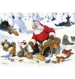 Santa Claus and Friends (Family 350 pc)