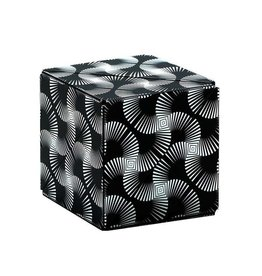 Fun In Motion Shashibo Cube Black & White