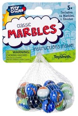 Toysmith CLASSIC MARBLES IN BAG