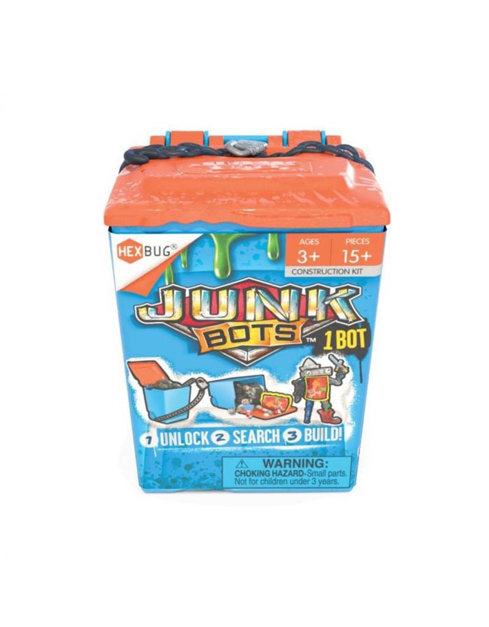Hexbug JunkBots Trash Bin Assortment