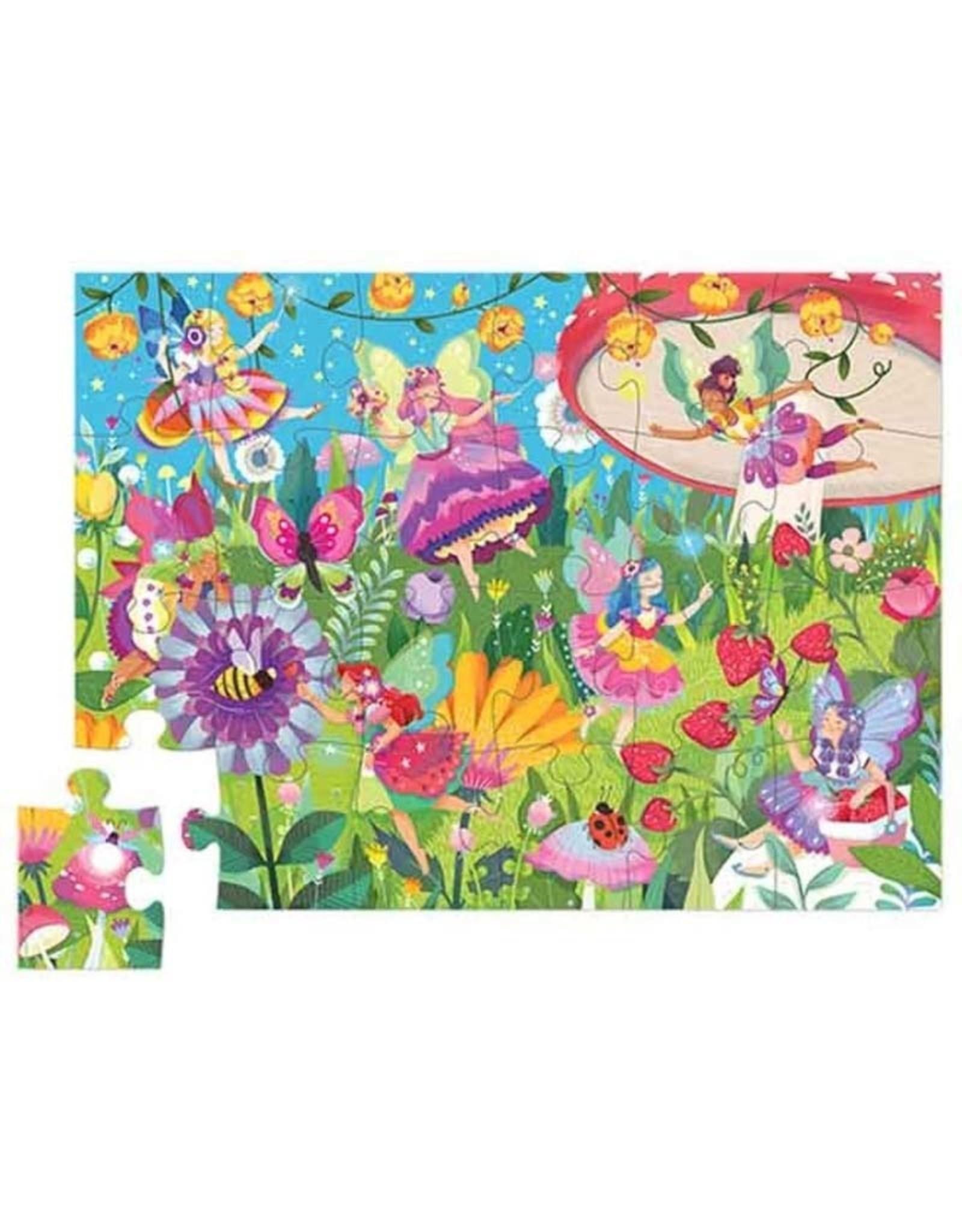 24pc Puzzle Fairy Garden