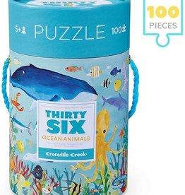 Crocodile Creek 100pc Puzzle Animal Puzzle/Ocean