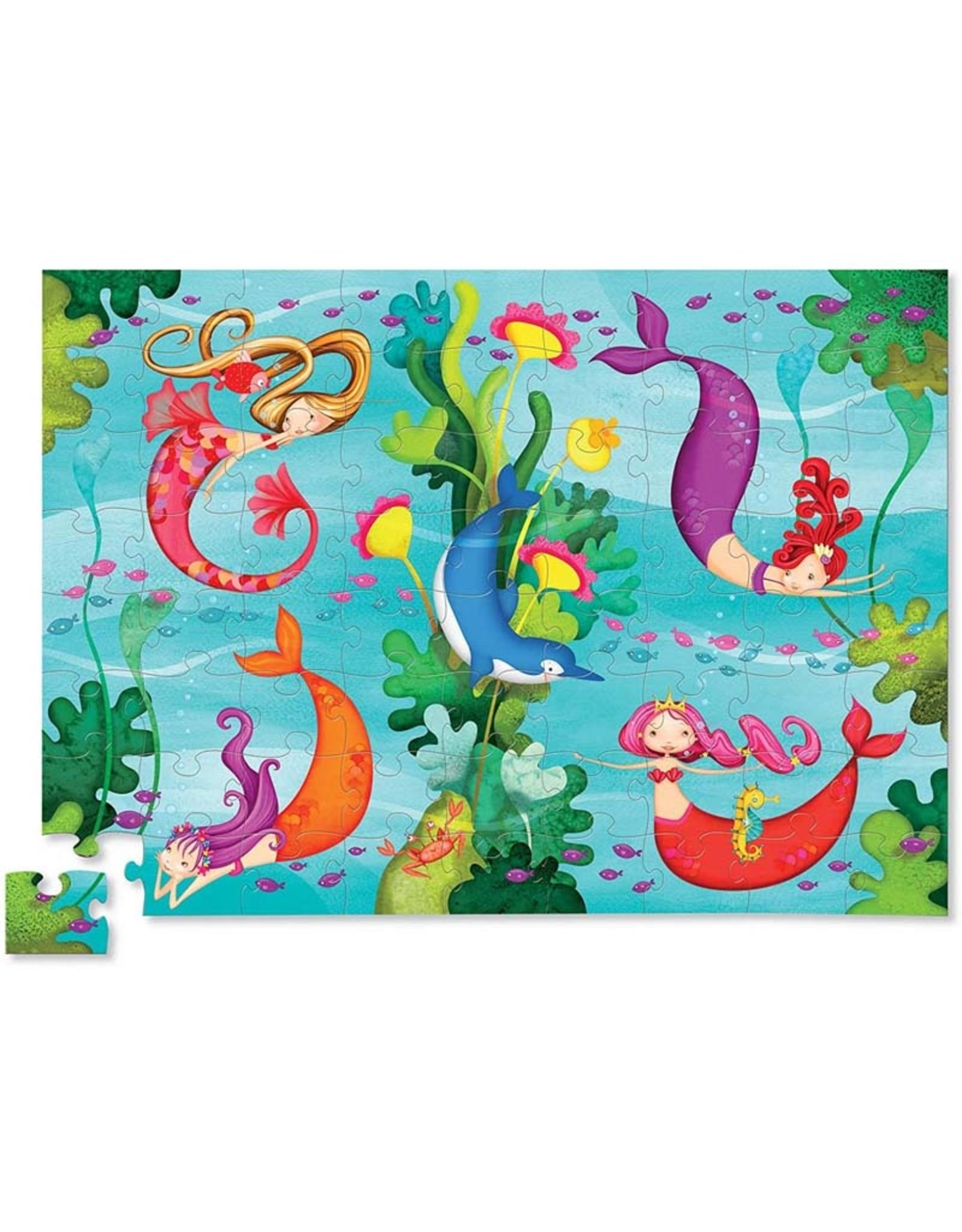 Crocodile Creek 72pc Puzzle Mermaid