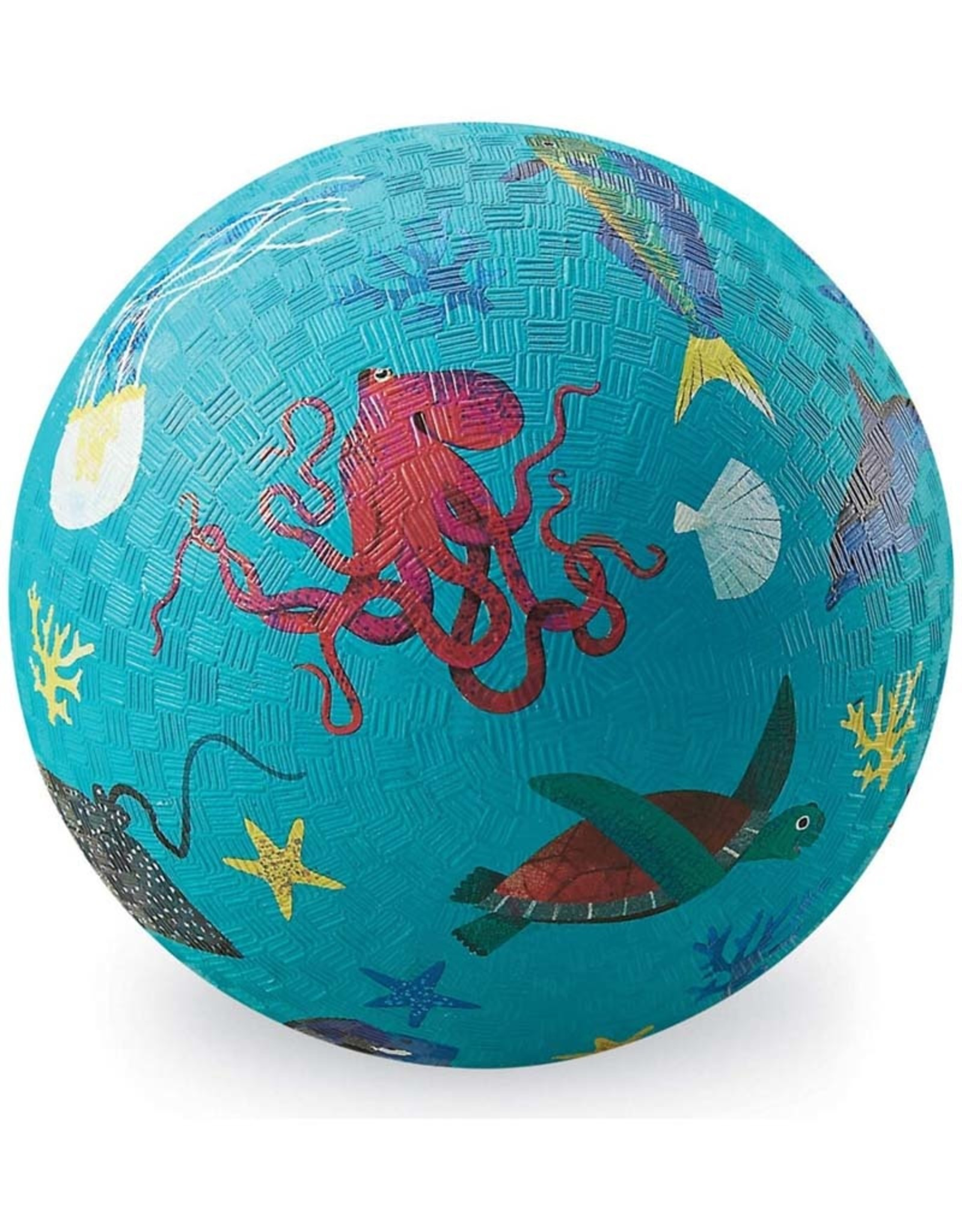 "Crocodile Creek 7""Playground Ball Sea Animals"