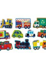 Let's Begin 2pc Puzzle Vehicles