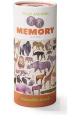 Crocodile Creek Canister Memory Game Wild Animals