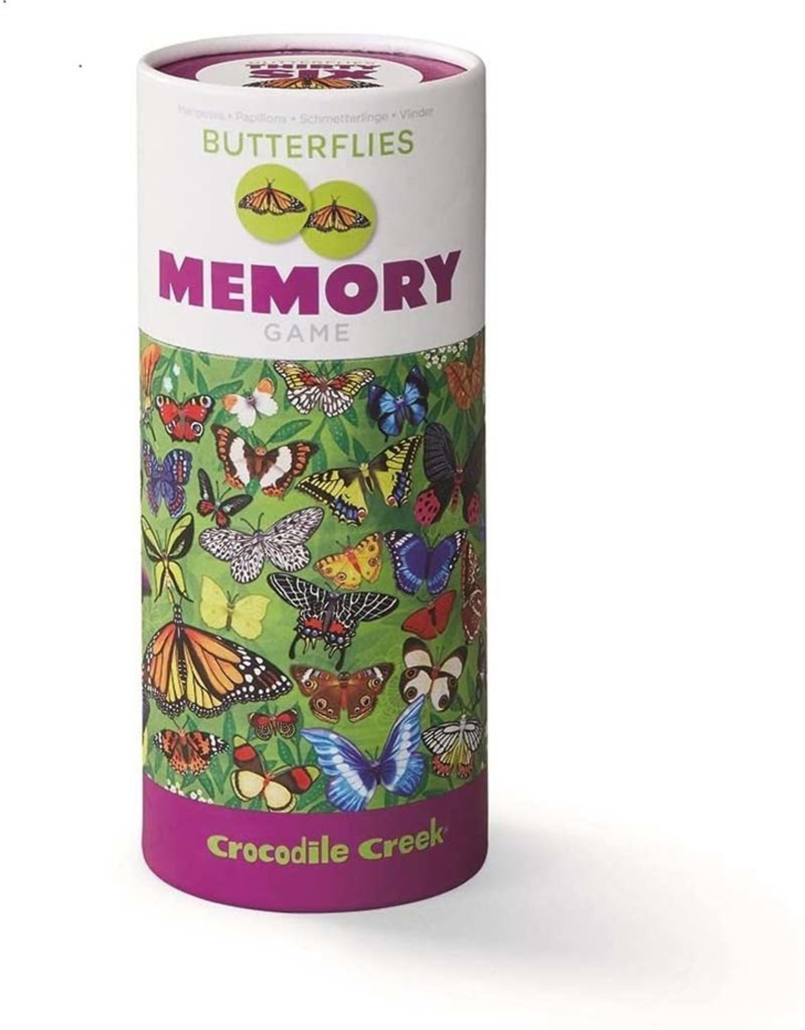 Crocodile Creek Canister Memory Game Butterflies
