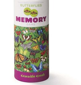 Crocodile Creek Canister Memory Game Butterflies