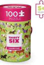 Crocodile Creek 100pc Puzzle 36 Horses