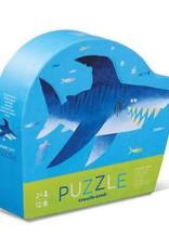 Crocodile Creek 12pc Mini Puzzle Shark City