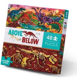 Crocodile Creek 48pc Above & Below Dinosaur World
