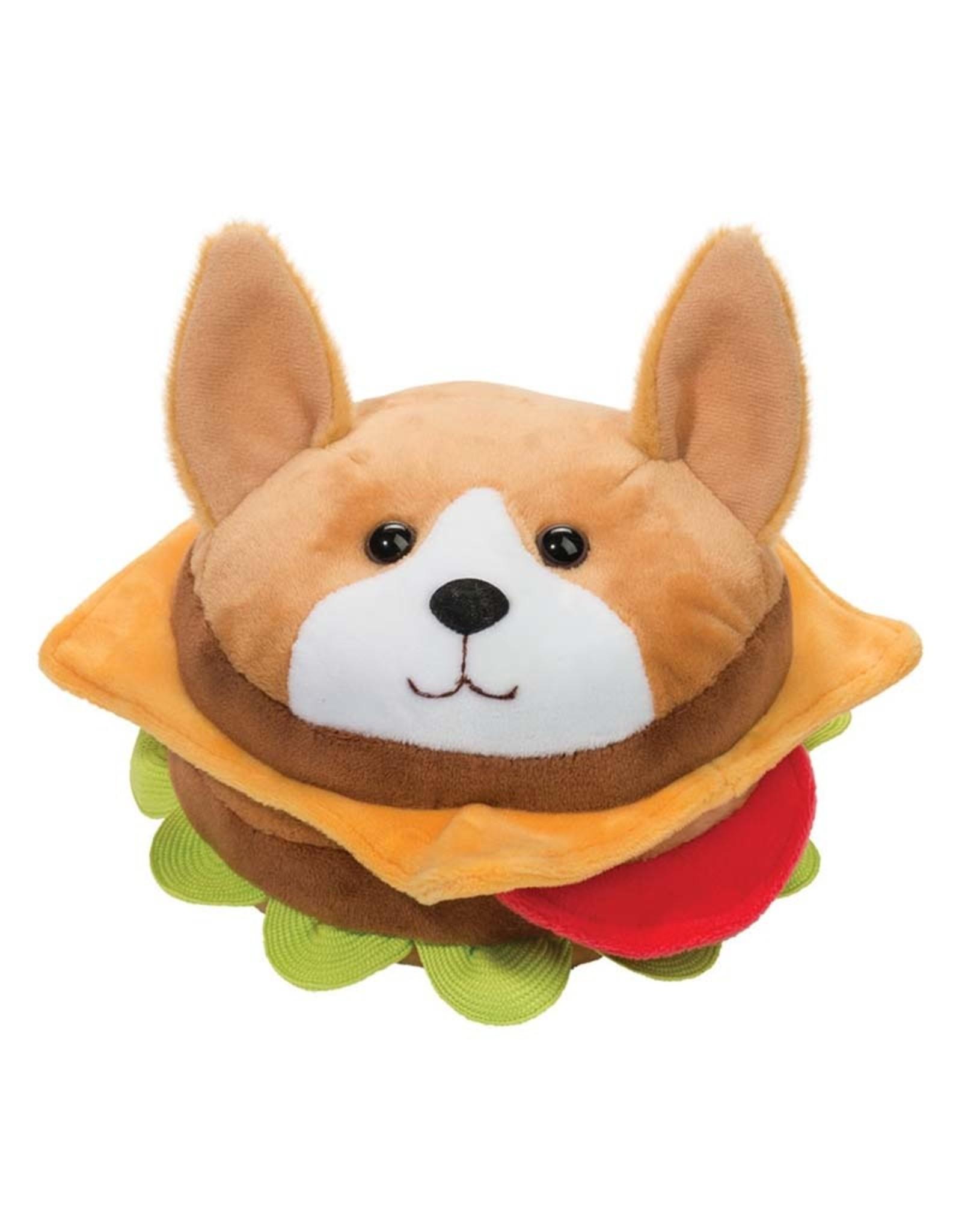 "Douglas 7"" Corgi Burger Macaroon"