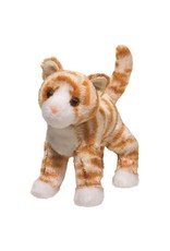 "Douglas 8"" Hally Orange Striped Cat"