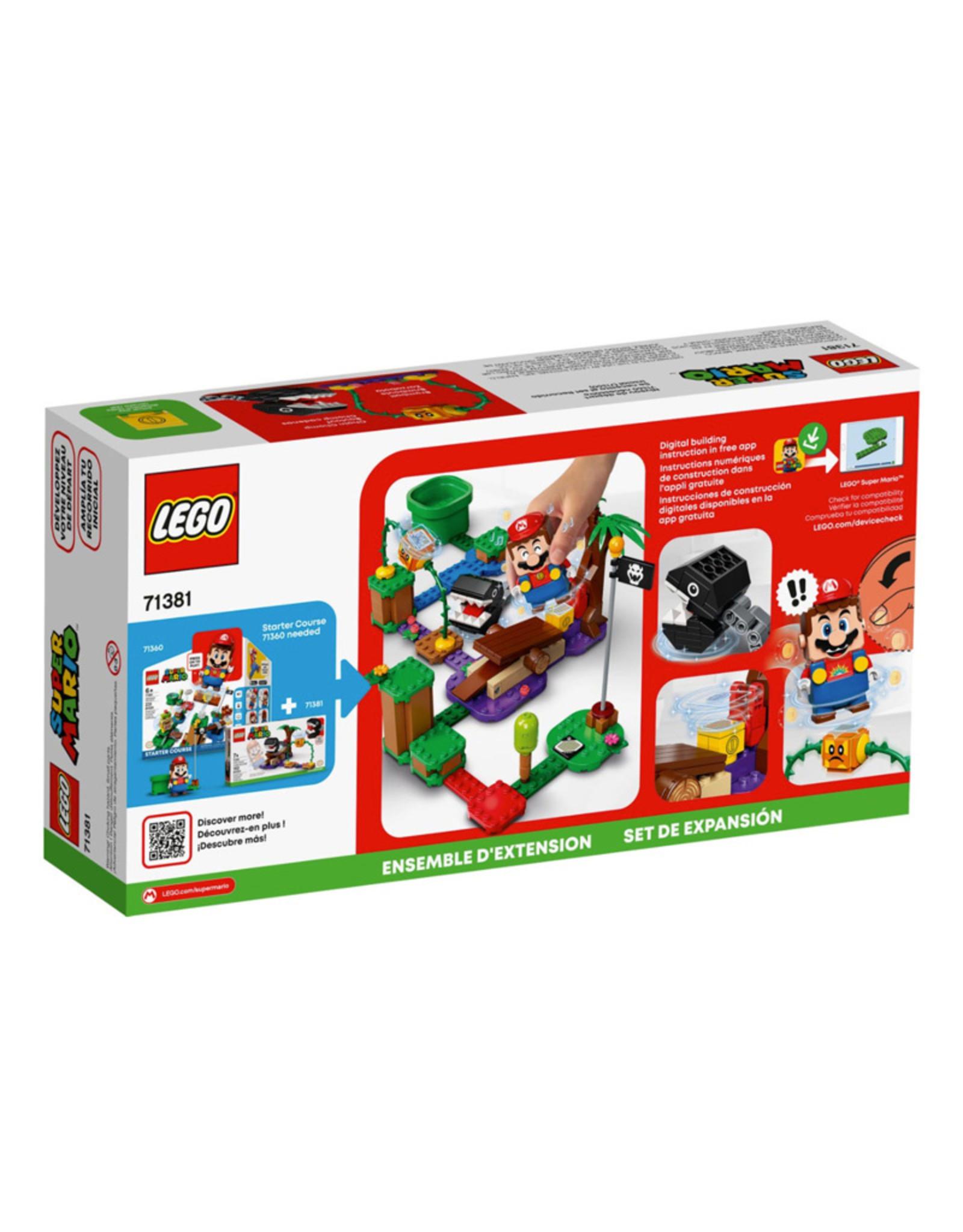 LEGO Lego Mario Chain Chomp Jungle Encounter
