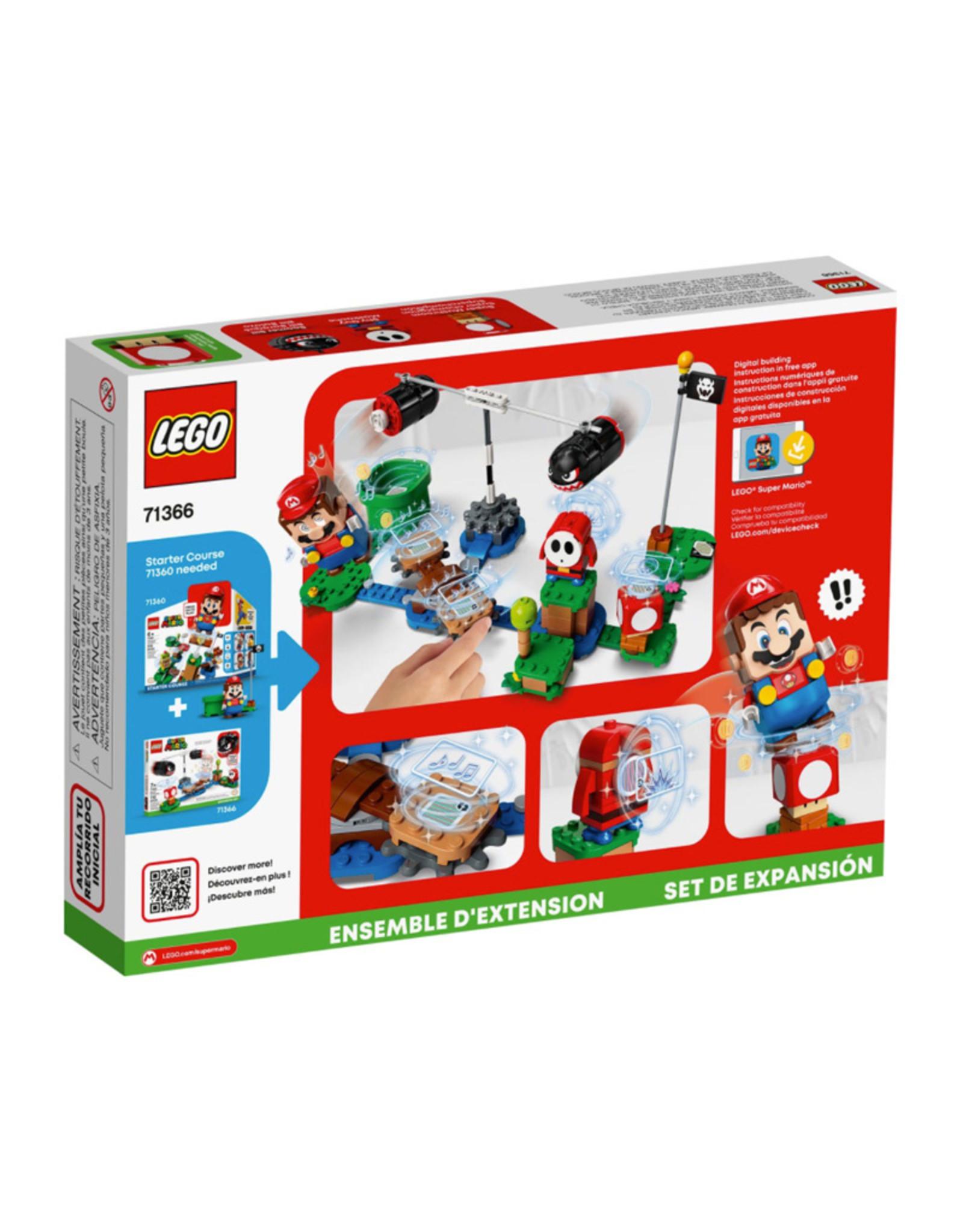 LEGO Lego Mario Boomer Bill Barrage Expansion