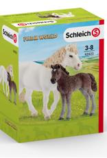 Schleich Schleich Pony Mare and Foal