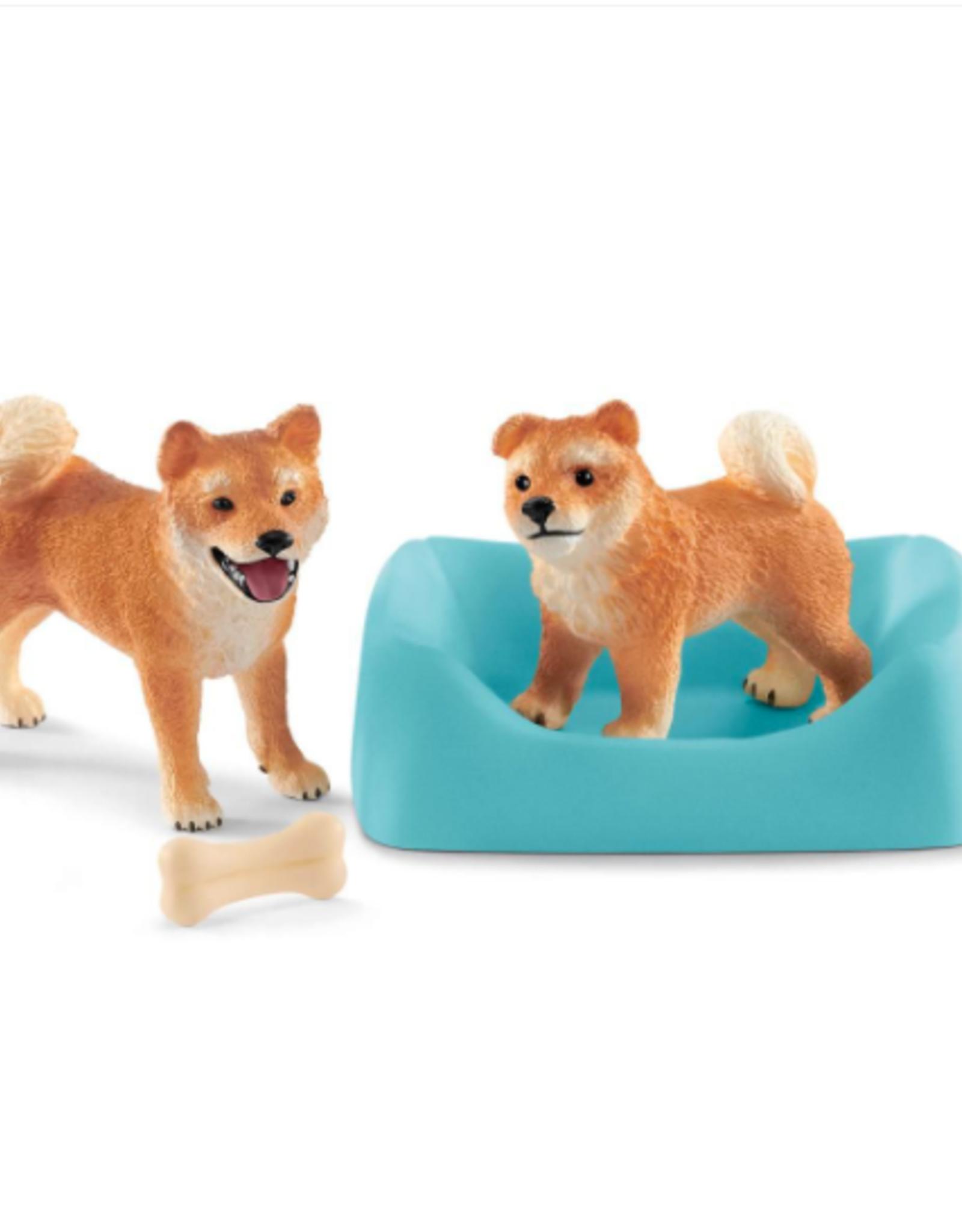 Schleich Schleich Shiba Inu Mother & Puppy