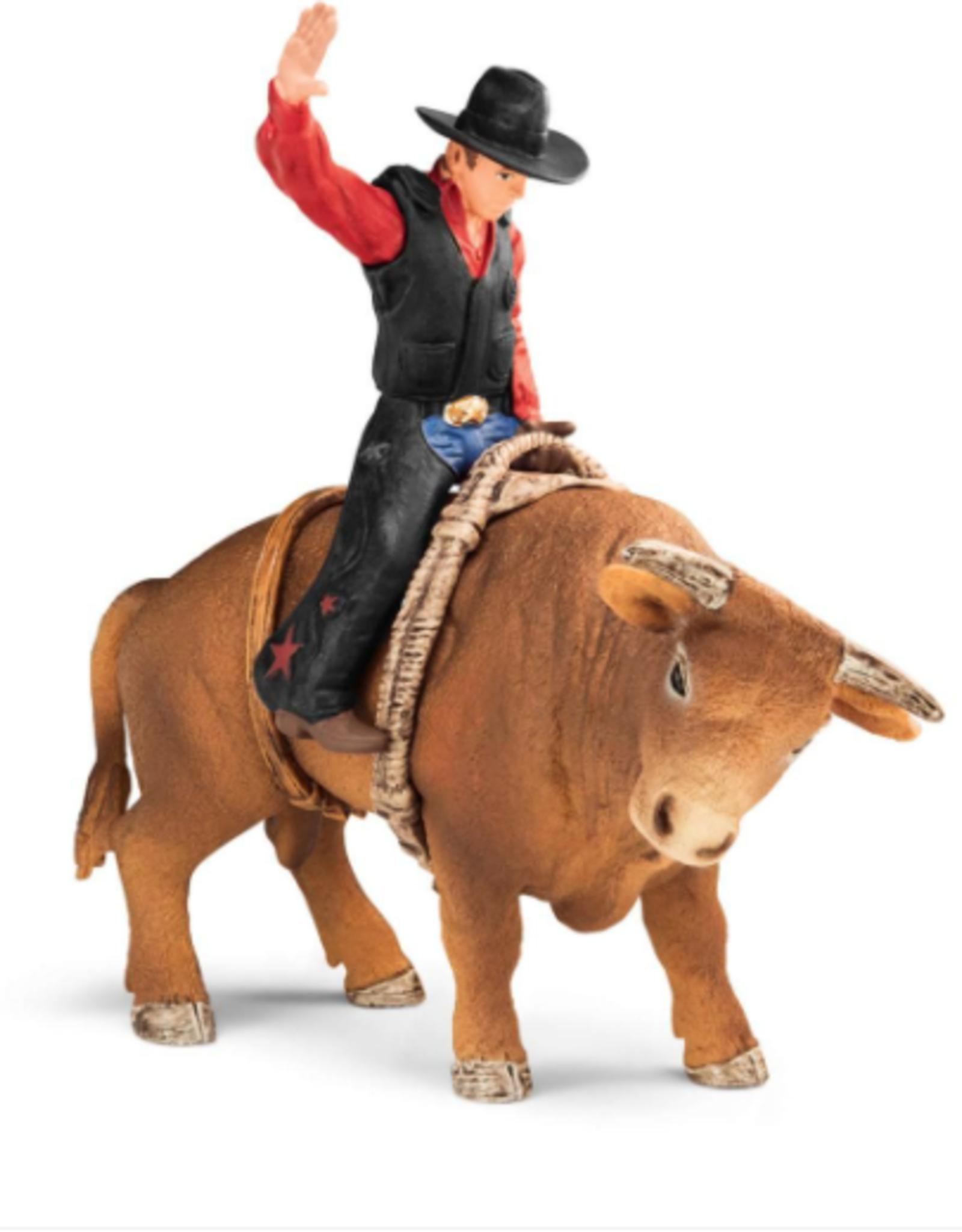 Schleich Schleich Cowboy with Bull