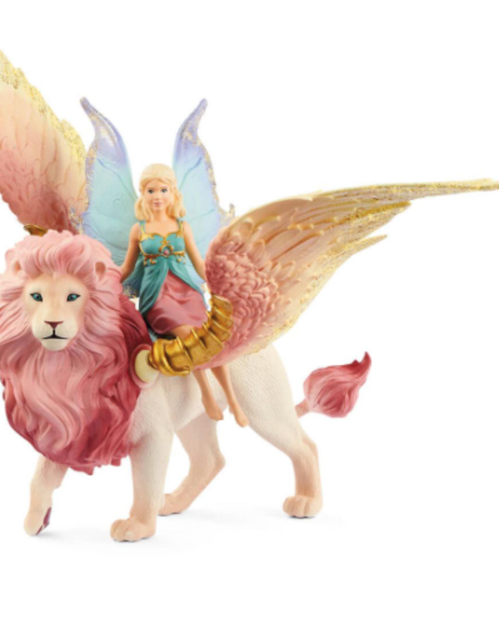 Schleich Schleich Fairy in Flight on Winged Lion