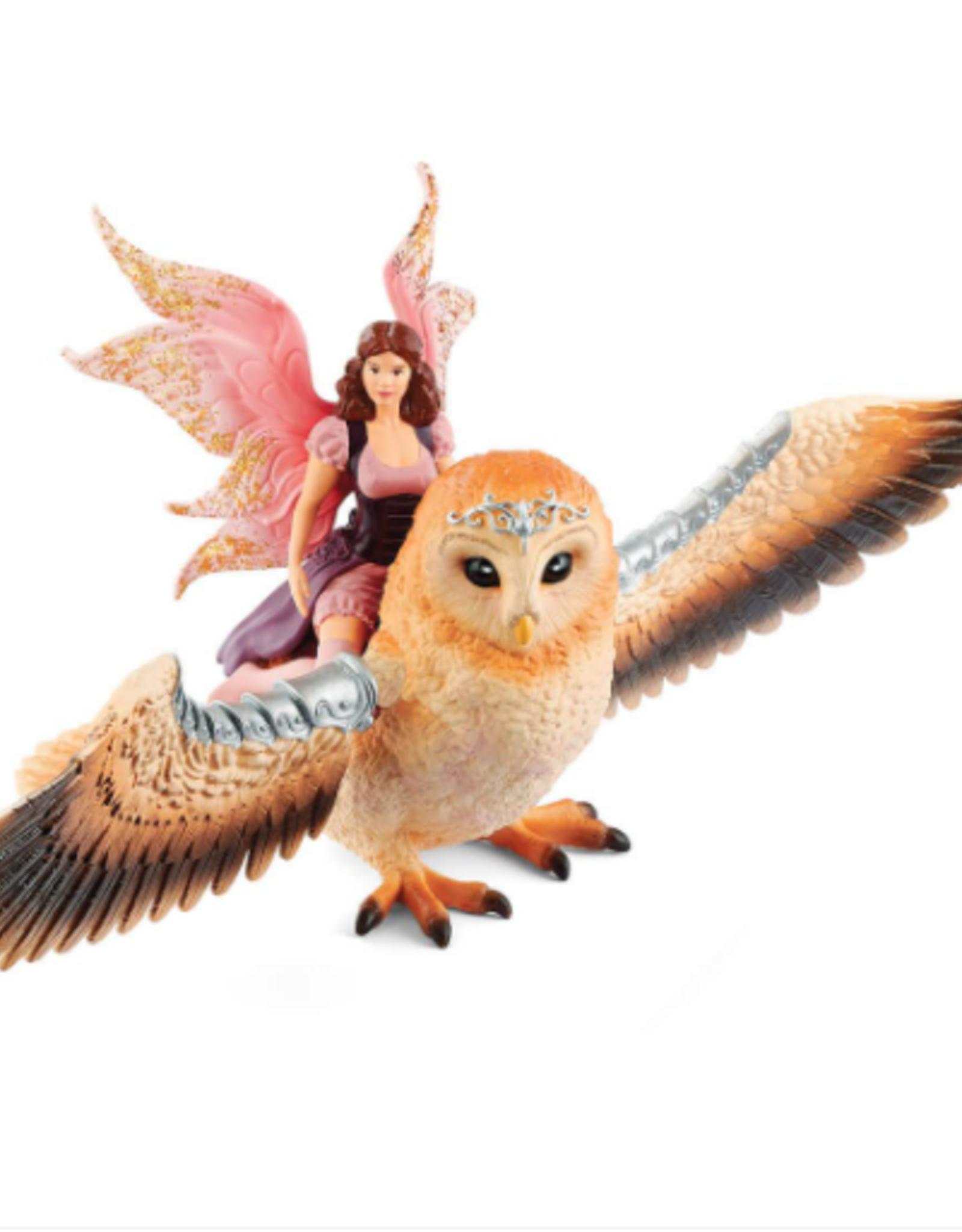Schleich Schleich Fairy in Flight on Winged Glam-Owl