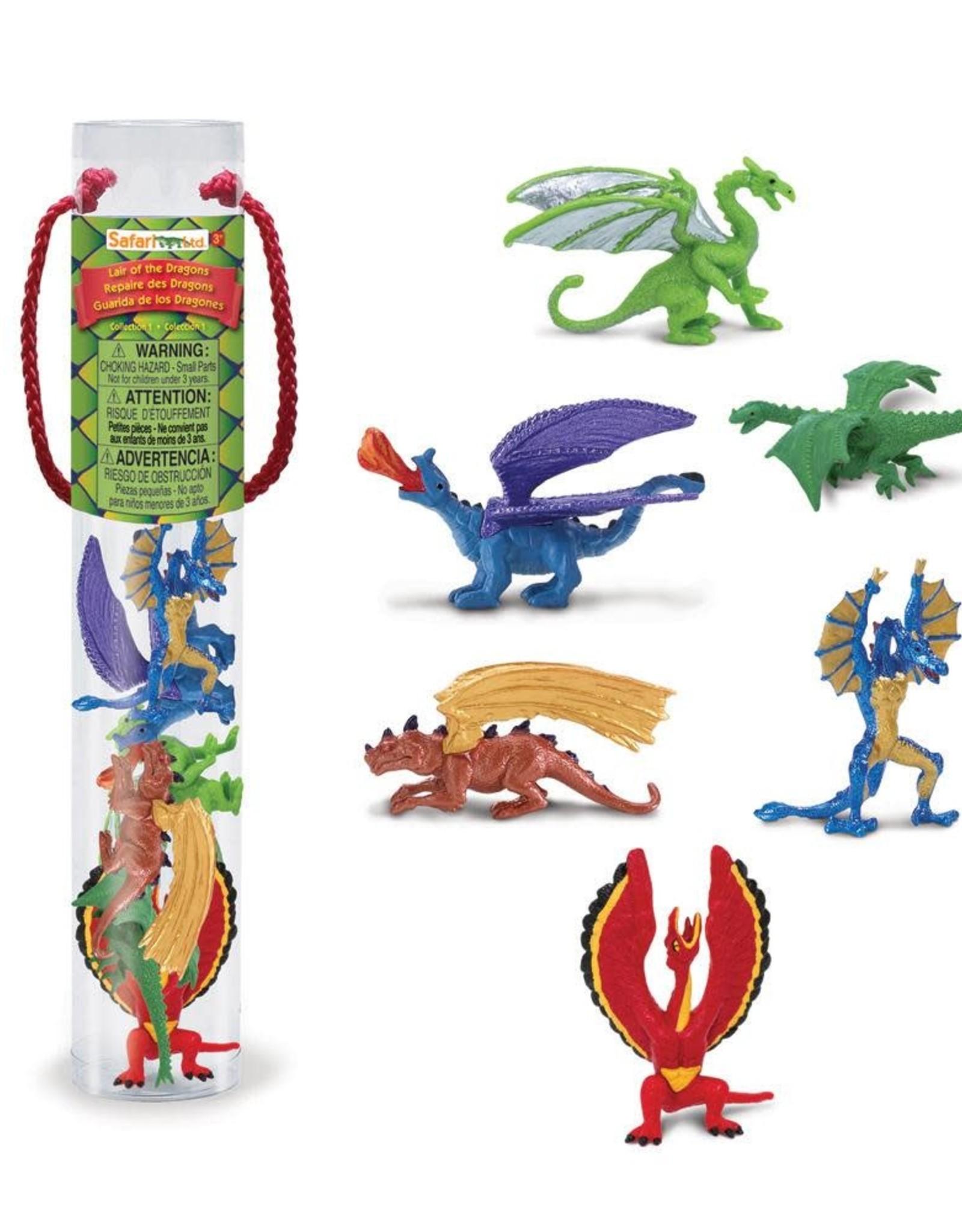 Safari Safari Designer Toob Lair of the Dragons Collection 1