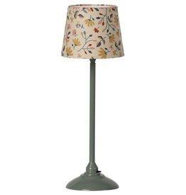 Maileg Maileg Miniature Floor Lamp (Dark Mint)