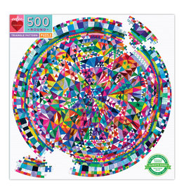 Eeboo 500pc Puzzle Triangle Pattern