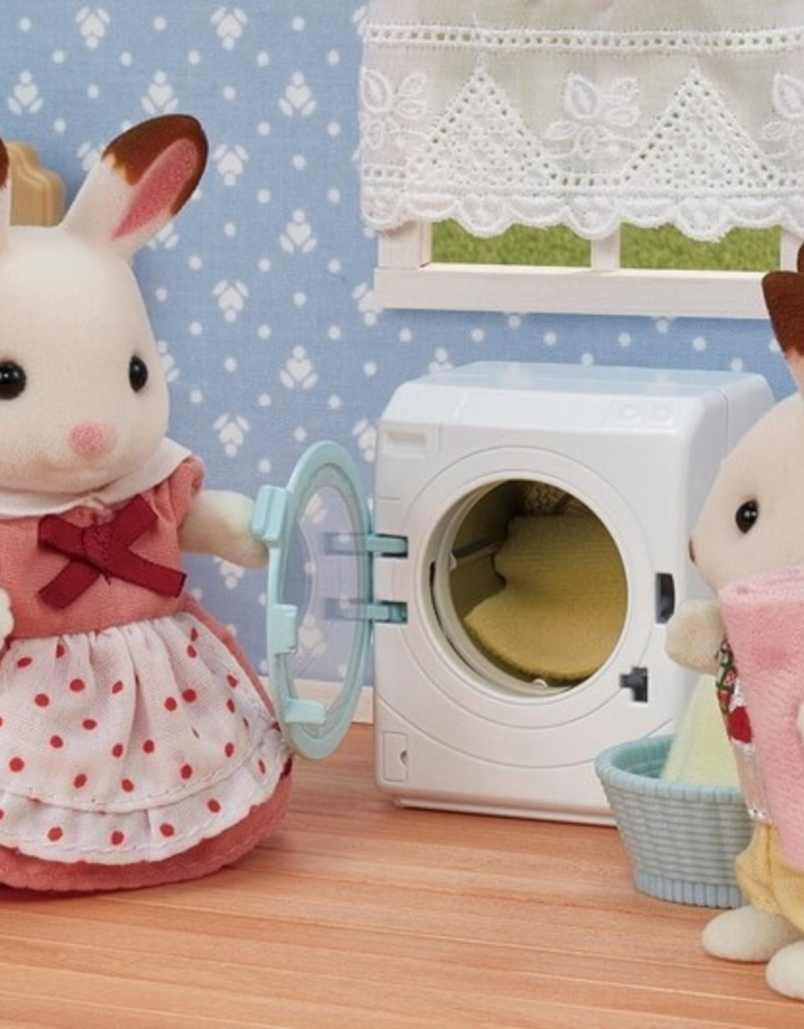 Calico Critters CC Laundry & Vacuum Cleaner