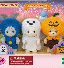 Calico Critters CC Trick Or Treat Trio