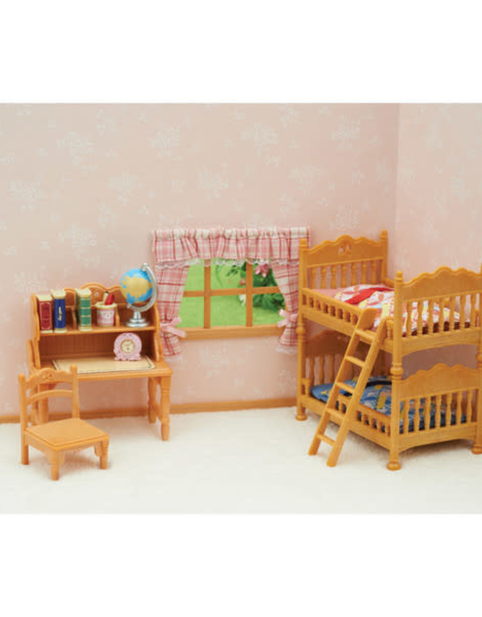 Calico Critters CC Children's Bedroom Set with Bunk Beds