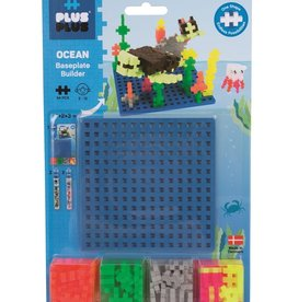 Plus-Plus Plus Plus Baseplate Builder Ocean