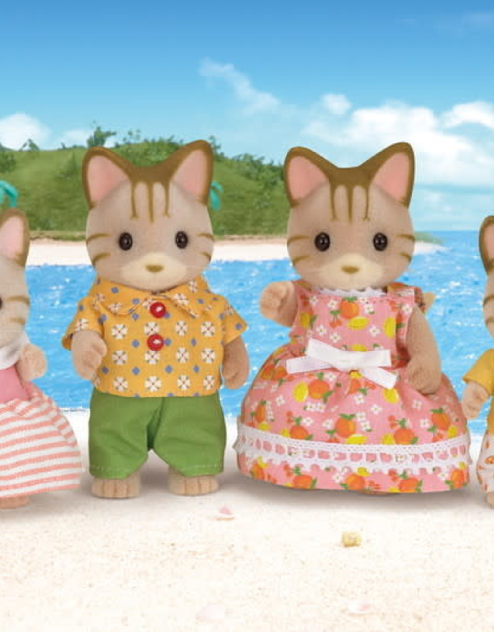 Calico Critters CC Sandy Cat Family