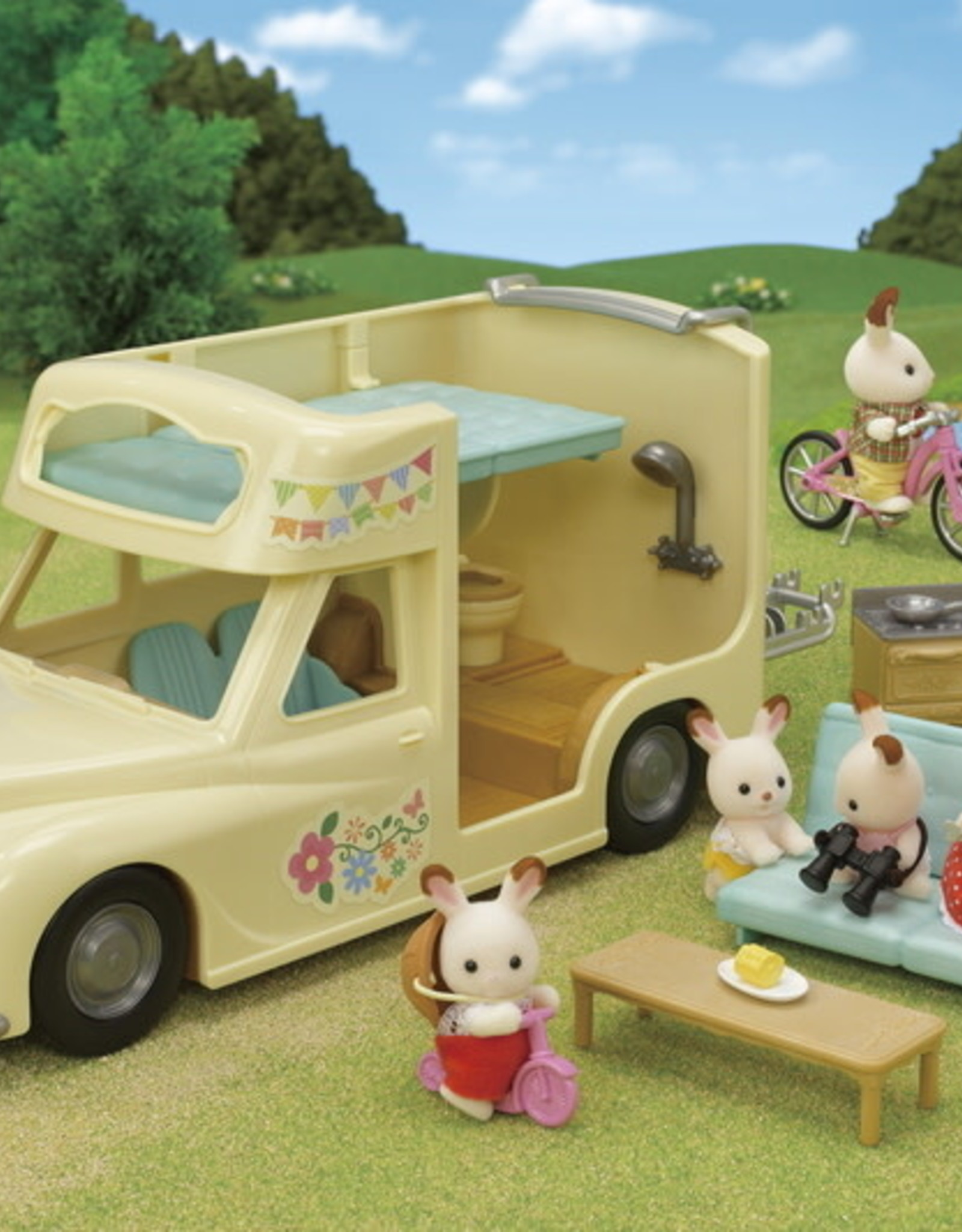 Calico Critters CC Family Campervan