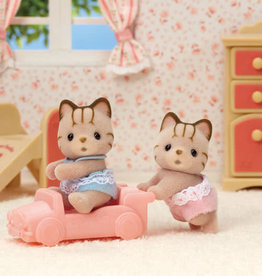 Calico Critters CC Sandy Cat Twins