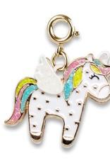 Charm It! Charm It! Gold Flying Unicorn Charm